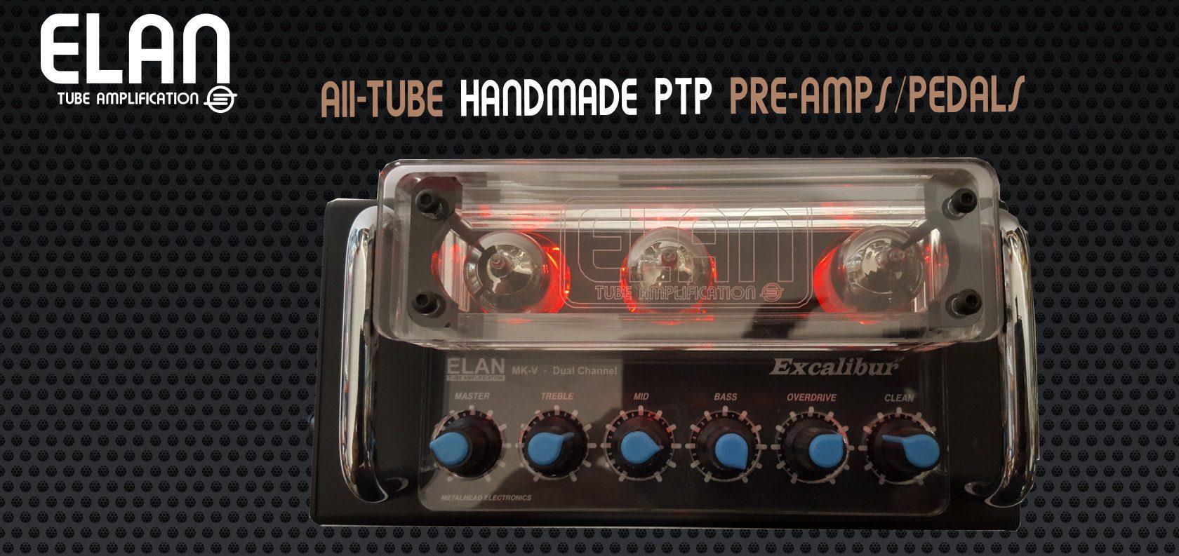 ELAN Tube Amplification- All-Tube Professional Guitar Gear
