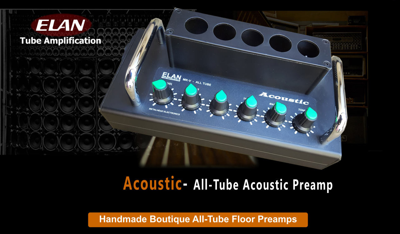 all tube acoustic preamp