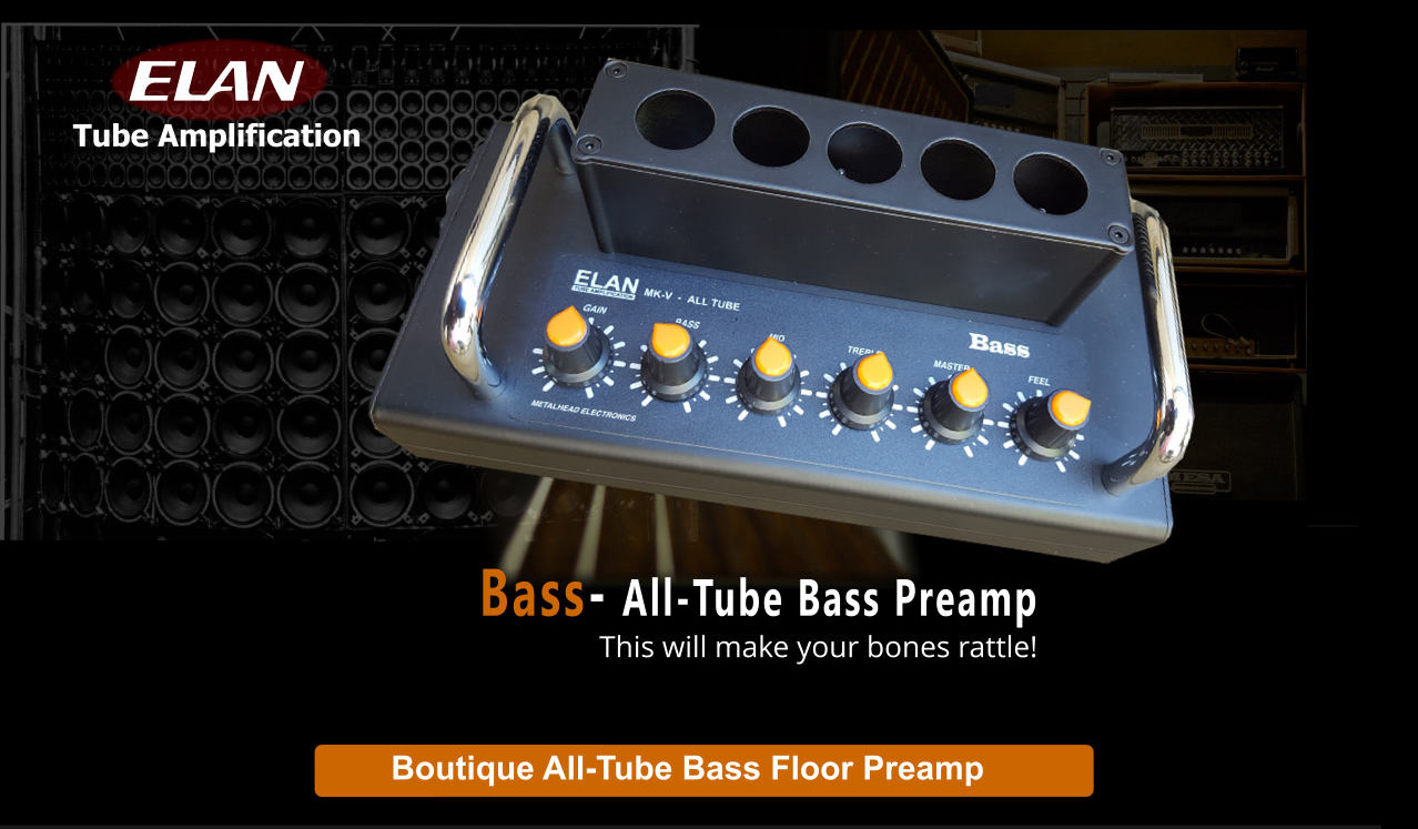 Bass– All Tube Bass Floor Preamp